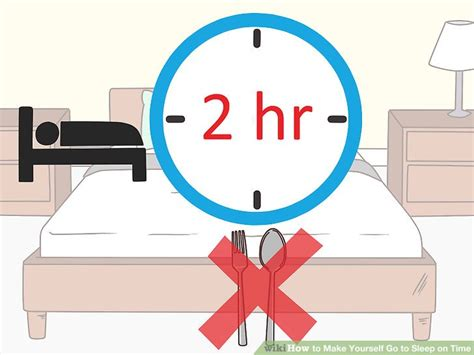 how to make a go to sleep how to make yourself go to sleep on time 12 steps with pictures