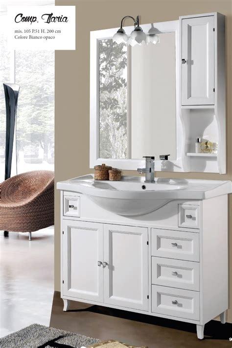 lavabo e mobile bagno mobile bagno classico con lavabo