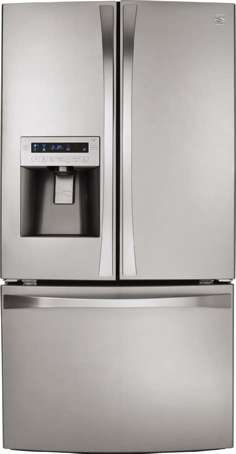 Kenmore Elite Door Refrigerator by Kenmore Elite 72053 31 0 Cu Ft Door Bottom