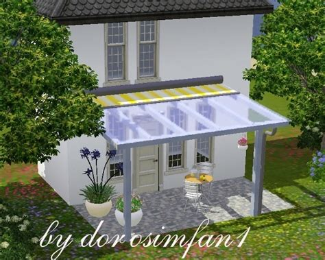 sims 3 awning glass awning ceiling outdoor indoor pinterest glasses