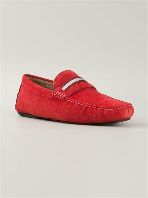 bally slippers bally wabler driving shoes in for lyst