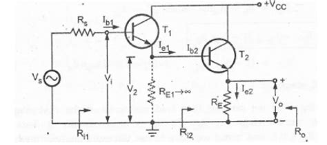 darlington transistor circuit analysis techniques of improving input impedance study material lecturing notes assignment reference