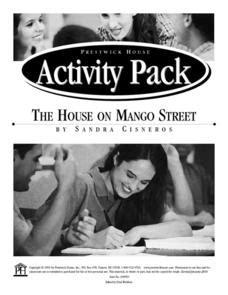the house on mango street chanclas theme the house on mango street activity pack activities