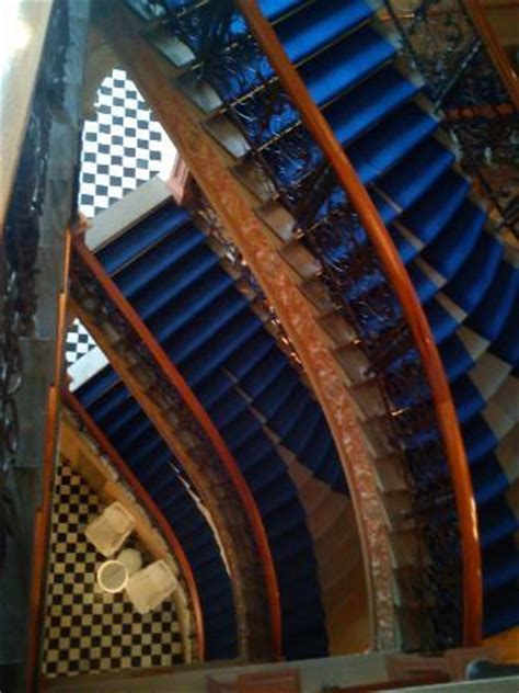 famous stairs from top of the famous stairs picture of elite hotel