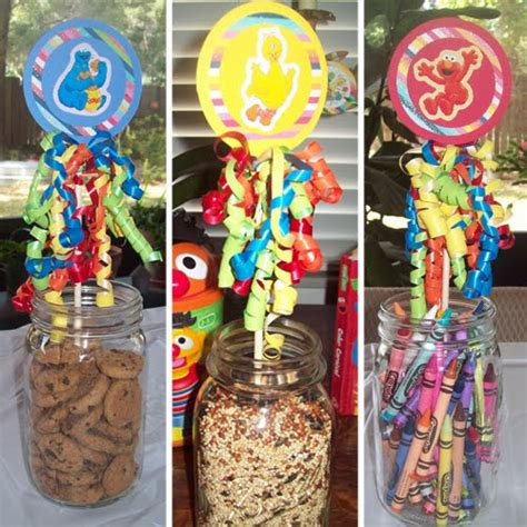 Handmade Birthday Decorations - handmade sesame birthday uses belly feathers