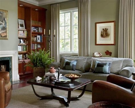 sherwin williams livable green living room