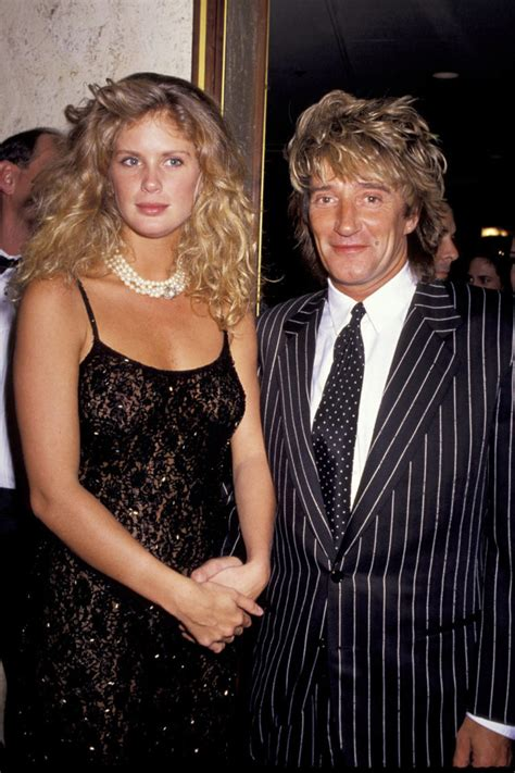 About Damn Time Rod Stewart Are Officially Divorced by The Most Epic Supermodel Romances Of All Time Fashion