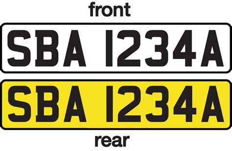 personalised number plates smart learner driving school