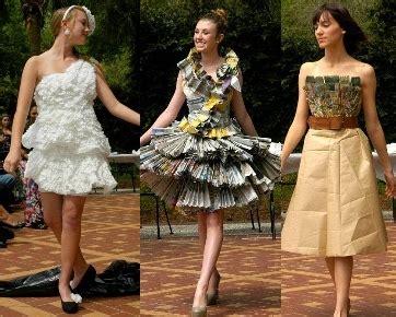 Baju Daur Ulang Buat Cowok buat gaun dari kertas anak 12 tahun menang kontes desain