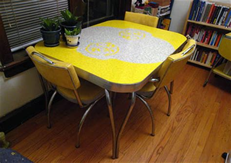 Yellow Kitchen Table 54 Of The Best Retro Kitchen Dining Tables