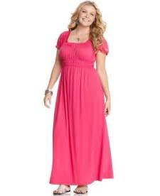 Plus size floral maxi dress 22 90 more color deal quick view