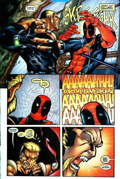 Anti Gores 2 X One Ultimate deadpool quotes deadpool comic vine