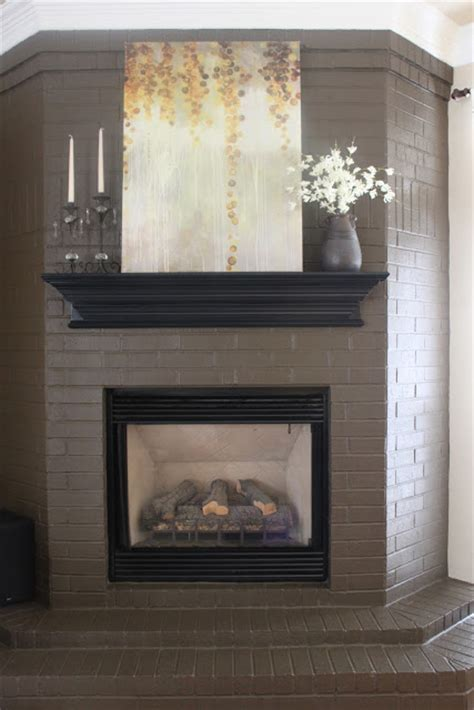 Paint Colors For Brick Fireplace by Crafty Paint Colors Crafty