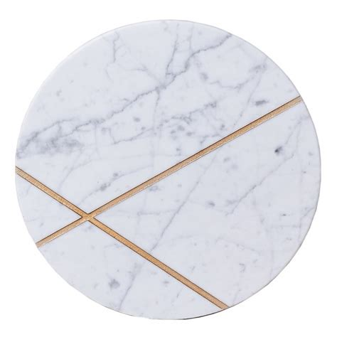 Home Interior Products Catalog round white marble platter by resident gp clickon furniture