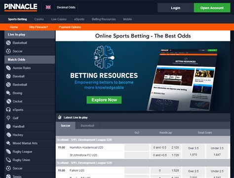 pinn bett betting bookmaker