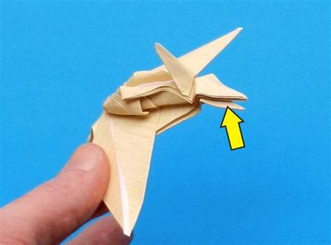 Origami Pterodactyl - joost langeveld origami page