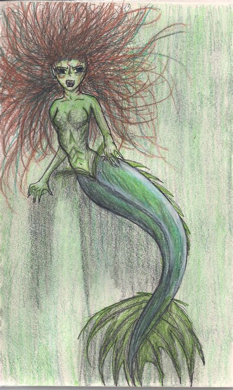 scary colors scary mermaid color by theatreninja on deviantart