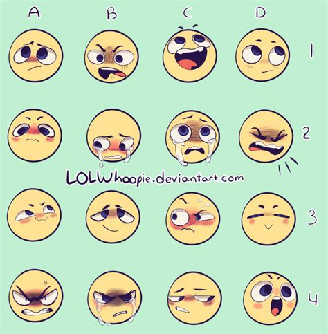 Facial Expression Memes - expression meme by lolwhoopie on deviantart