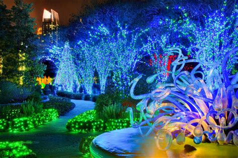 atlanta atlanta botanical garden light display garden