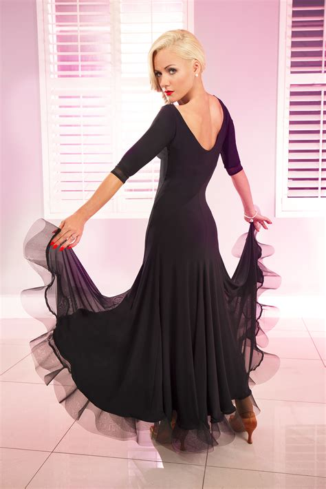 Tania Dress Black big ballroom dresses wedding gallery