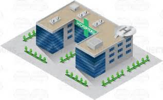 Free Home Building Software a hospital building with blue mirrored windows and