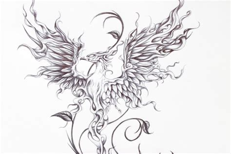 firebird tattoo firebird request from a friend up by