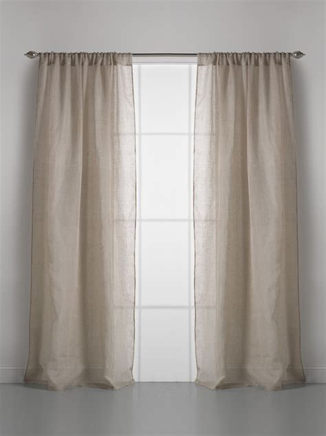 gauze fabric curtains couture dreams solid linen gauze window curtain