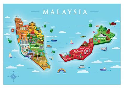 map of malaysia visit malaysia 2015 map yen pooi malaysiaholidaypackages malaysiapackages