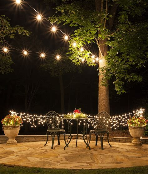 10 ideas of hanging outdoor lights without trees