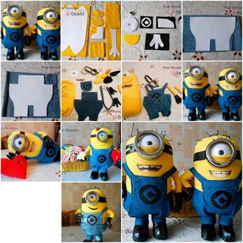 how to make toys how to make minion doll step by step diy tutorial how to
