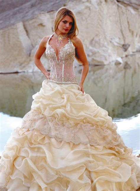 wedding themes wedding style  corset wedding dress
