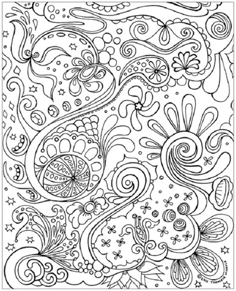 free printable coloring pages for adults zen hard abstract pages hard abstract colouring pages