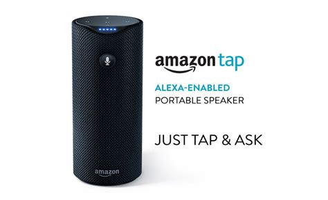 amazon tap amazon makes echo smaller and portable with echo dot and