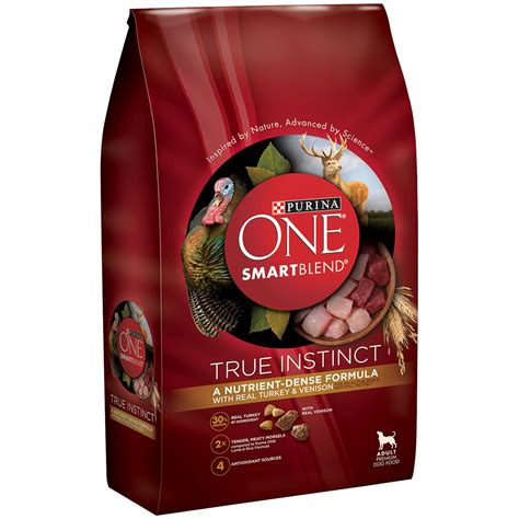 instinct food purina one smartblend true instinct with real turkey venizon food 3 8 lb