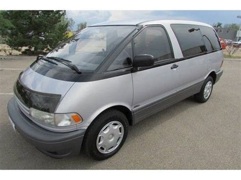 Toyota Previa 1996 Buy Used 1996 Toyota Previa Dx Awd Supercharged 1 Owner