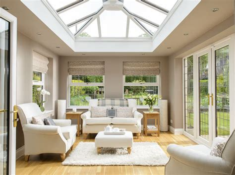 Lean To Conservatory Blinds A Passion For Creating Beautiful Interiors For An Orangery