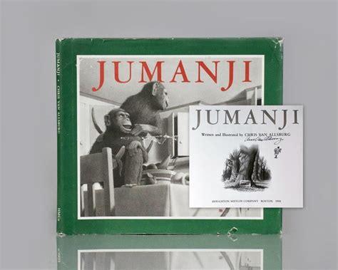 jumanji movie book jumanji raptis rare books
