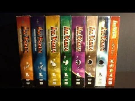 inuyasha box set inuyasha season 1 7 box sets anime package