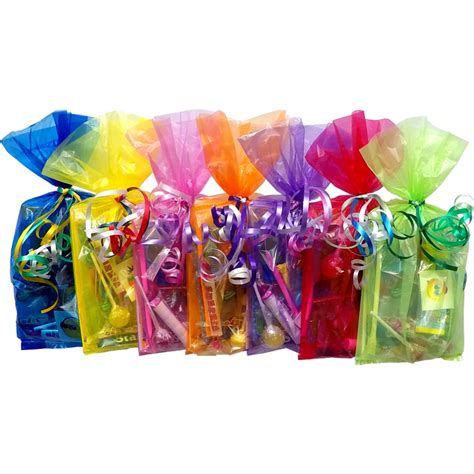 childrens unisex filled party bags