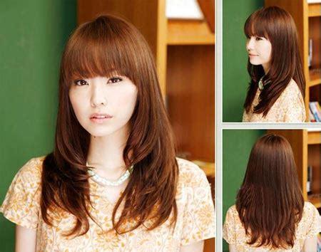 style rambut sedang tren style rambut panjang perempuan tren model gaya rambut