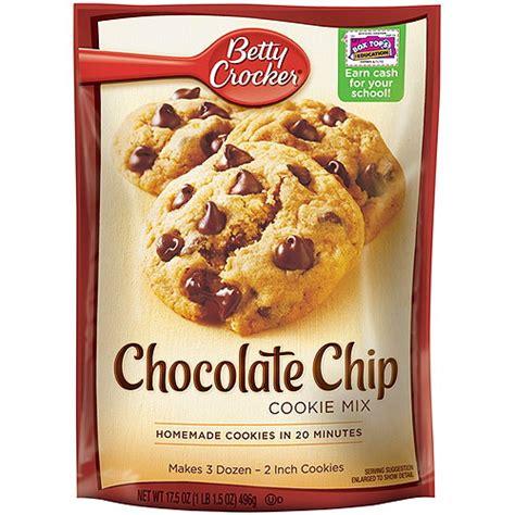 betty crocker cookies chocolate chip cookies betty crocker