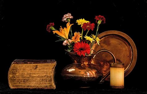 life flowers copper  photo  pixabay