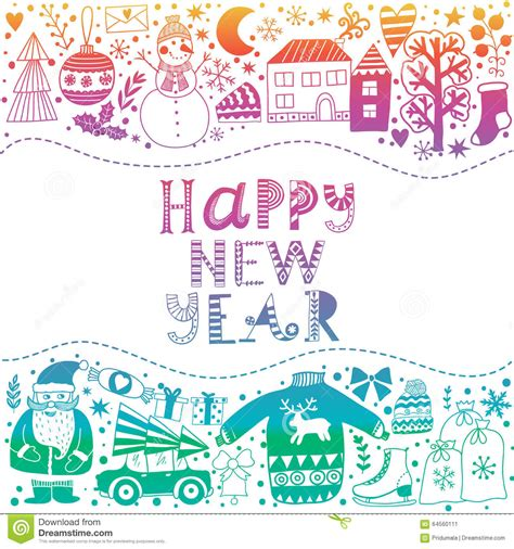 Greeting Card Template Merry by Greeting Card Template Vector Merry