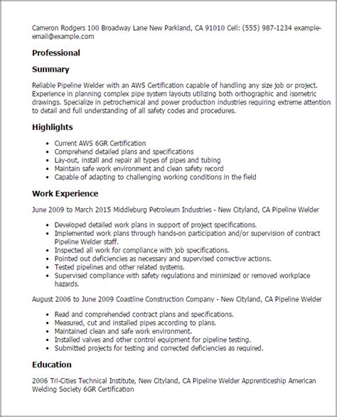 sle resume for welder sle experience resume format 28 images sle