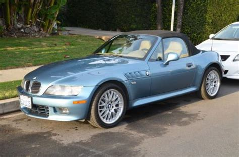 free car manuals to download 2001 bmw z3 head up display find used 2001 bmw z3 roadster atlantic blue convertible 5 speed manual 21 024 miles in los