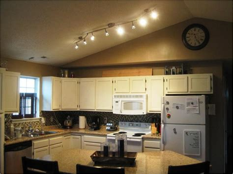 kitchen lighting track stylish kitchen lighting ideas