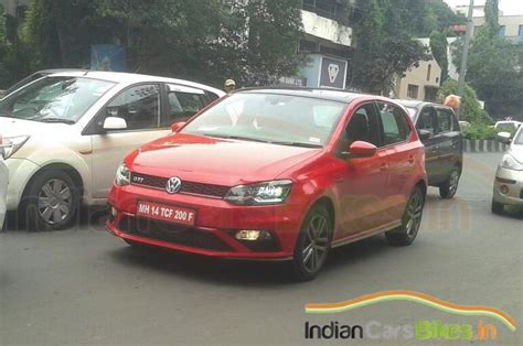 new volkswagen polo india 192ps volkswagen polo gti spied in india ready for launch