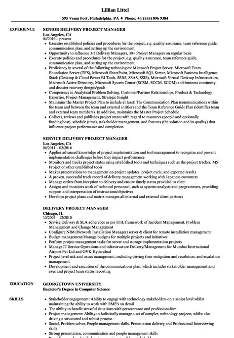 Project Manager Resume Skills by Project Manager Skills Resume Single Page Resume Template