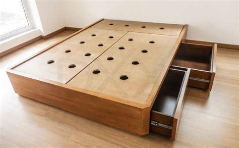 cama  cajones nova enchapada dxxi fabrica de muebles contemporaneos  deco en  cama