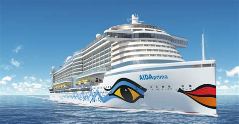 aidaprima neue route aidaprima to call hamburg home world maritime news